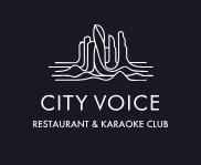 Логотип караоке-ресторана City Voice